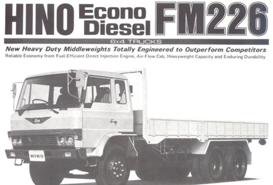 HINO FM226